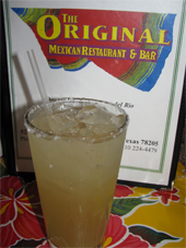 The Original mexican  restaurant san antonio texas margarita review
