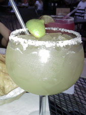 Scenic Loop Cafe Margarita Review in San Antonio Texas